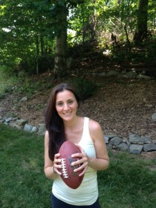 Laura Bagnarol of The Pigskin Princess Project