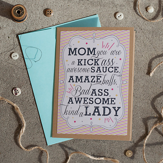 Rena Franco Design: awesome mom card