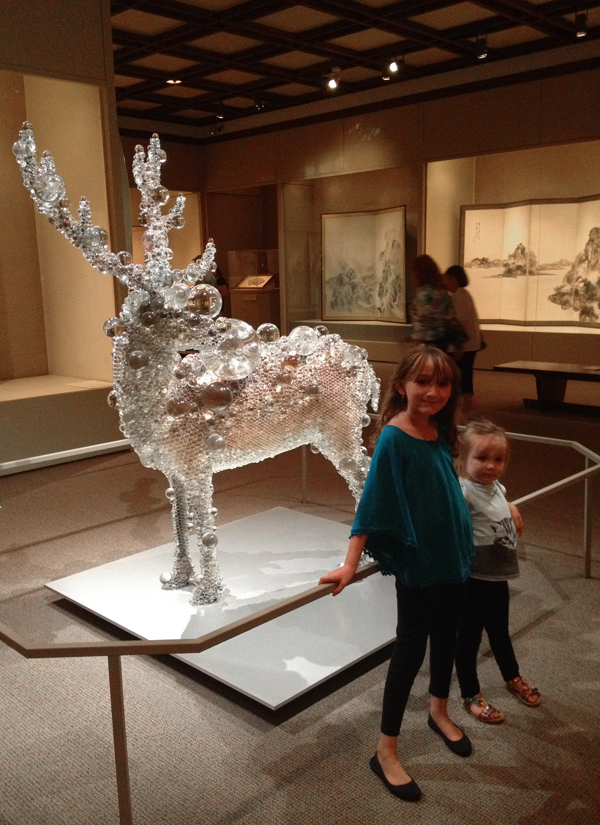 the met with kids: crystal deer