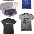 graphic tshirts: talking tees