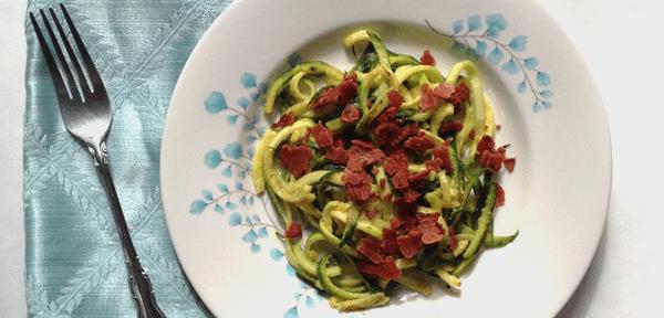 gluten free zucchini pasta