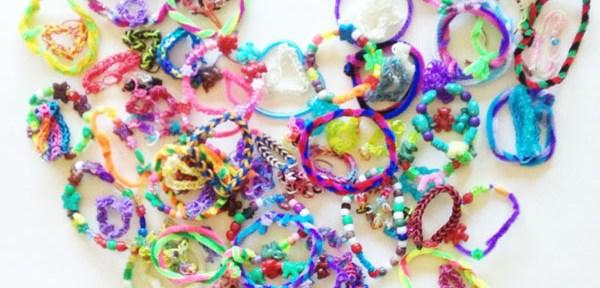 Hope's Door fundraiser | friendship bracelets