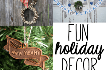 etsy finds | fun holiday decor
