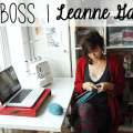 girl boss | leanne of chi chi dee handmade