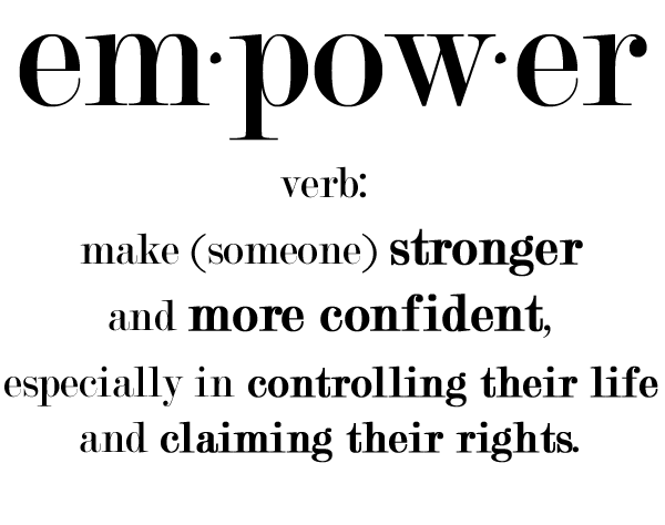 my word for 2015 empower