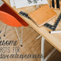 awesome podcasts for creative entrepreneurs #smallbiz