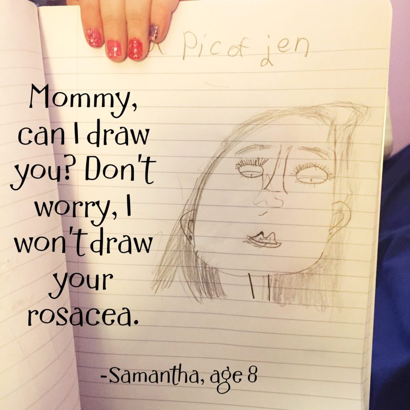 Things My Kids Said | rosacea