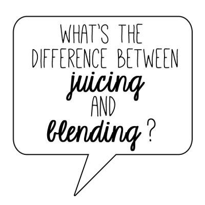 ask the expert | juicing vs blending