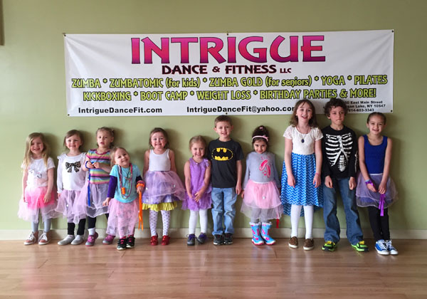 Intrigue Dance and Fitness kids birthday party Westchester