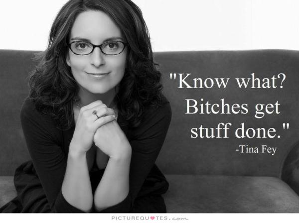 girl power | Tina Fey quote