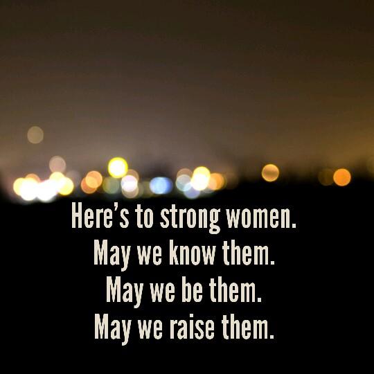 International Women's Day | strong women