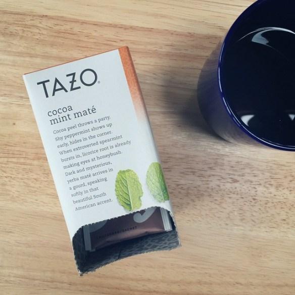 tazo cocoa mint mate