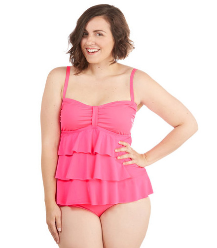 ModCloth for the fun of it plus sized top