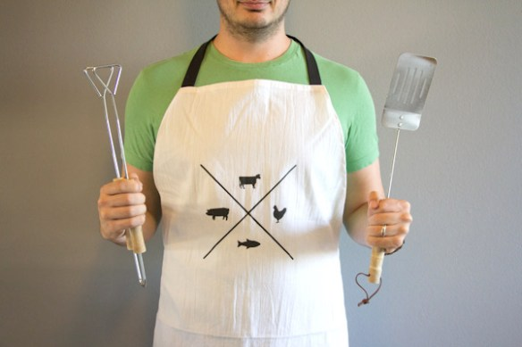 father's day gift guide | DIY meat eater apron