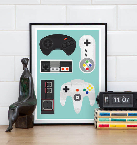 father's day gift guide | ReStyle video game poster