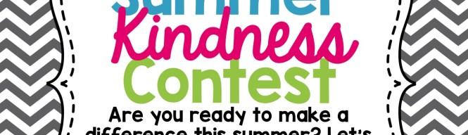 Maria Dismondy Summer Kindness Contest