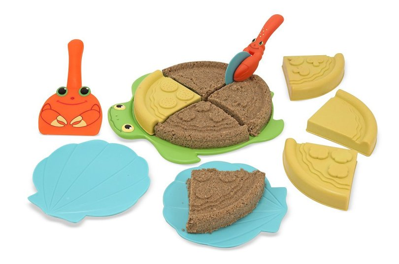 pool and beach toys | Melissa and Doug pizza sand set