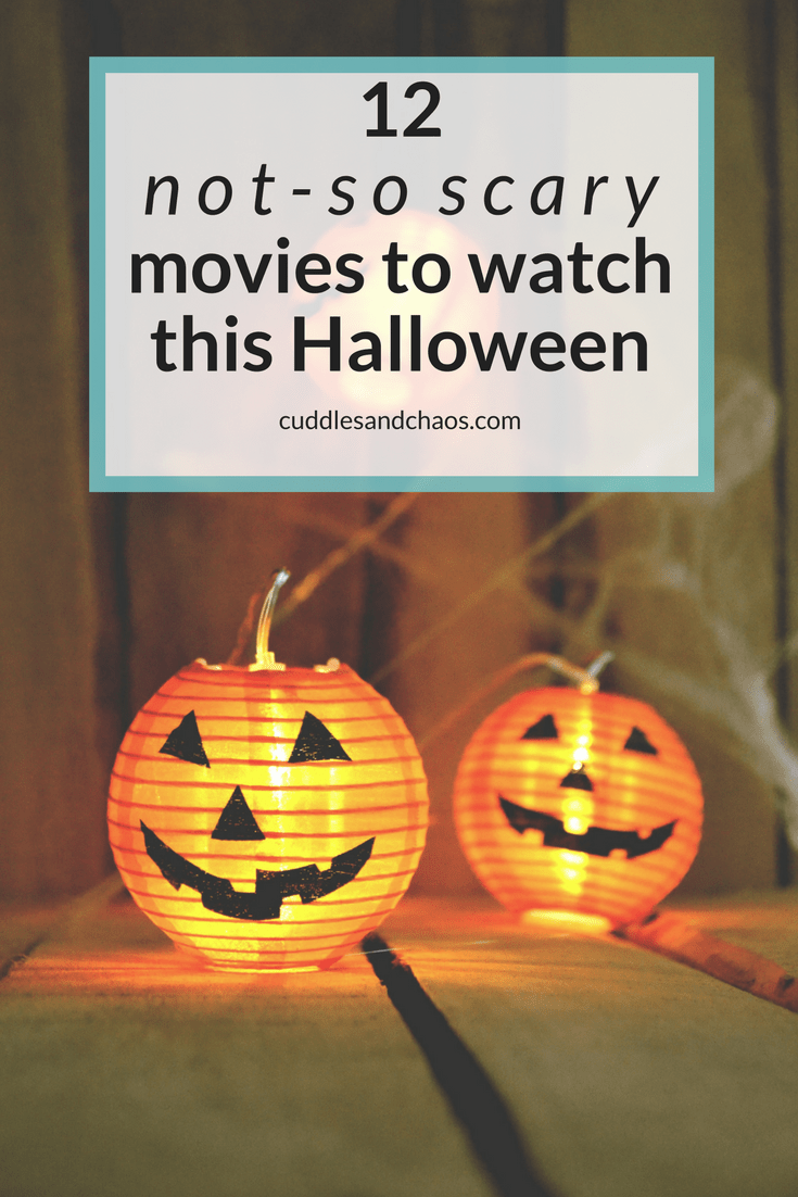 12 not-so scary movies to watch this Halloween