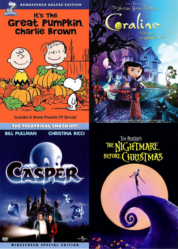 12 Not-So Scary Movies to Watch This Halloween | Cuddles & Chaos