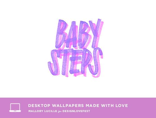 free desktop wallpaper | mallory lucille for designlovefest