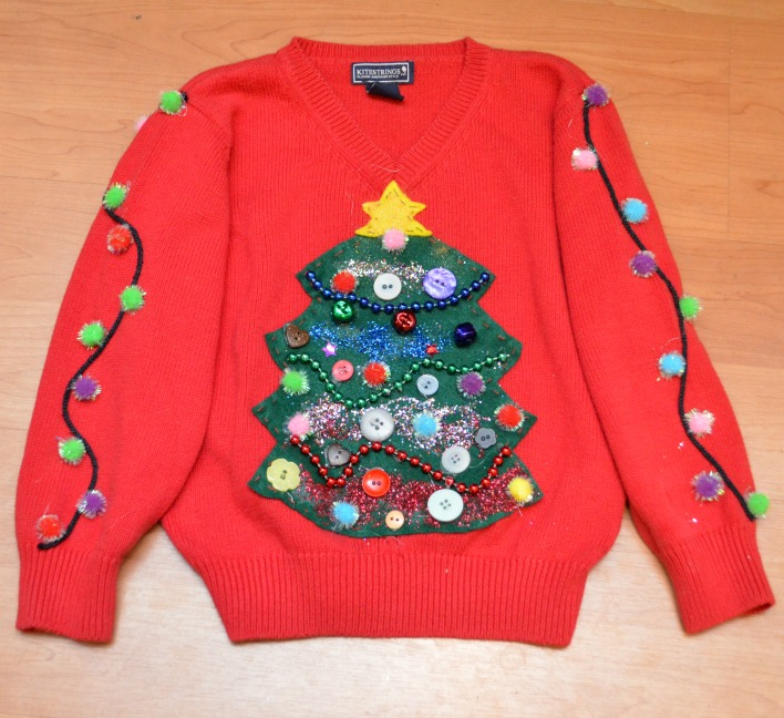 Ugly Christmas Sweater DIYs | kids ugly sweater