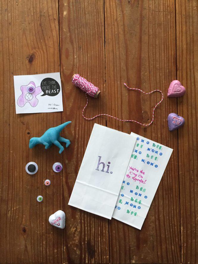 FREE printable DIY monster valentines