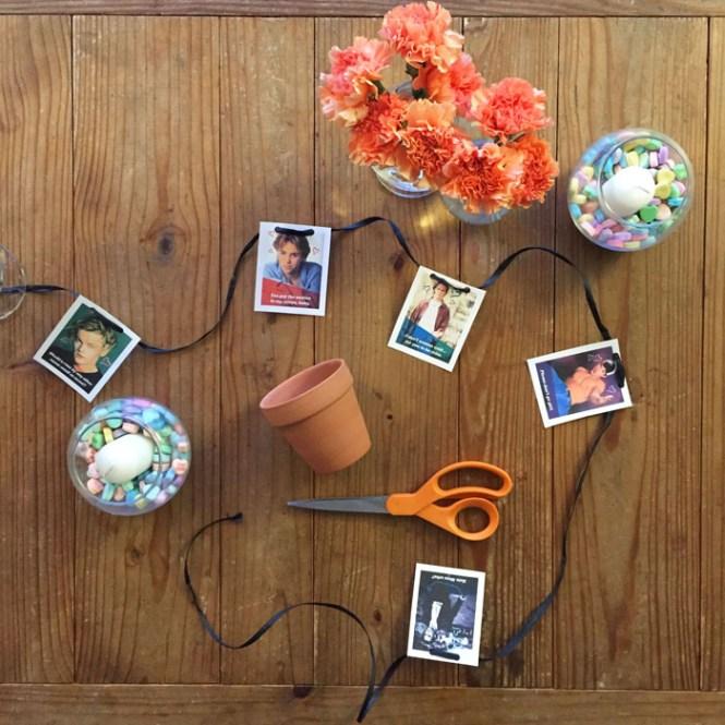 crafty tea party decorations