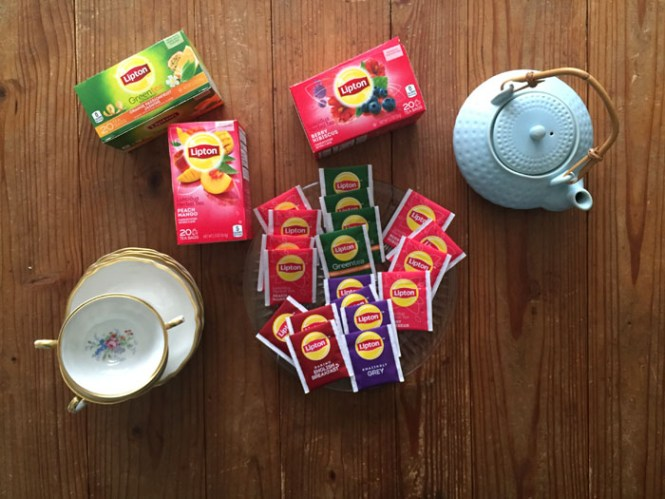 lipton tea time selection