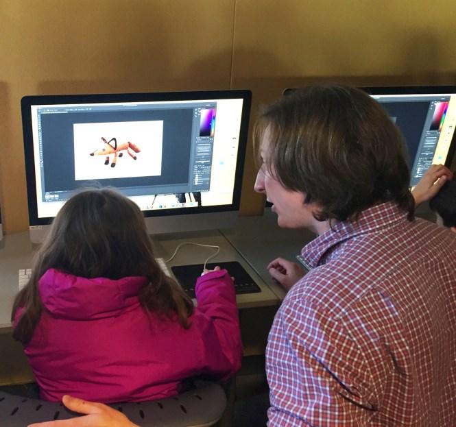 Jacob Burns Viewing and Doing computer animation