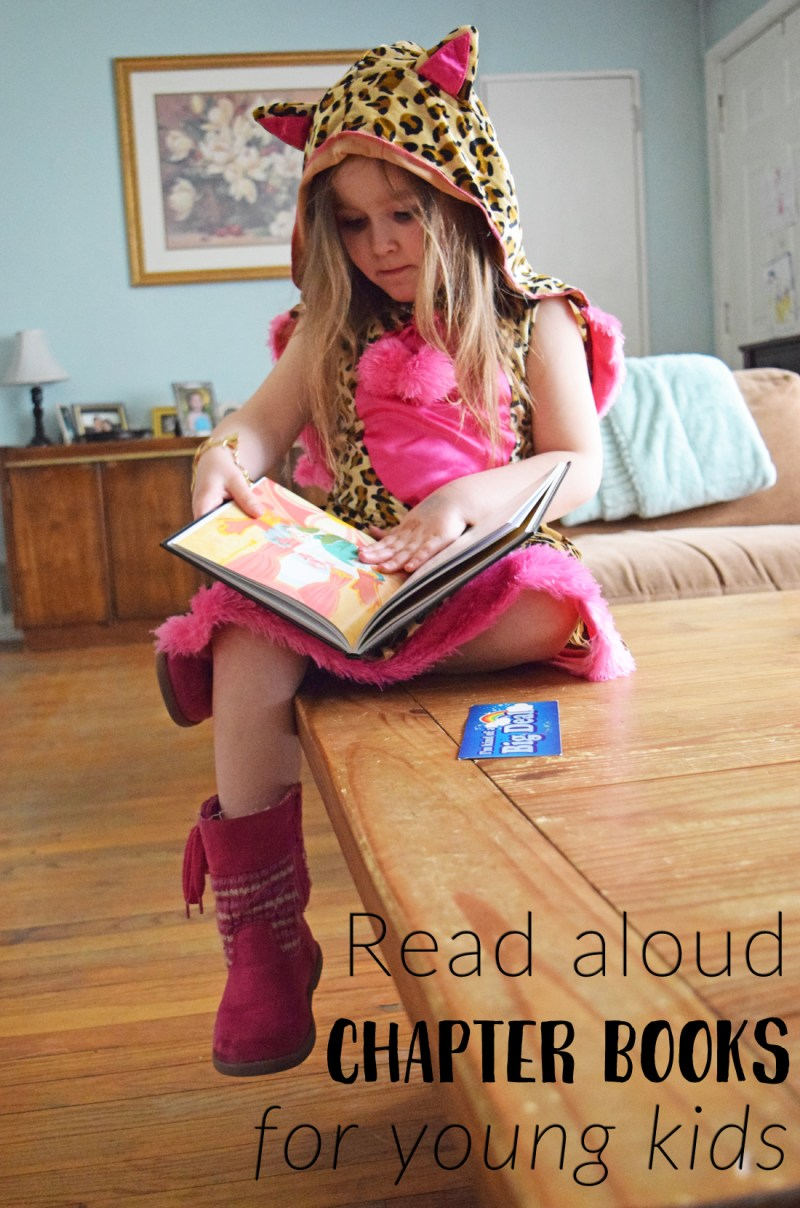read aloud chapter books for young kids