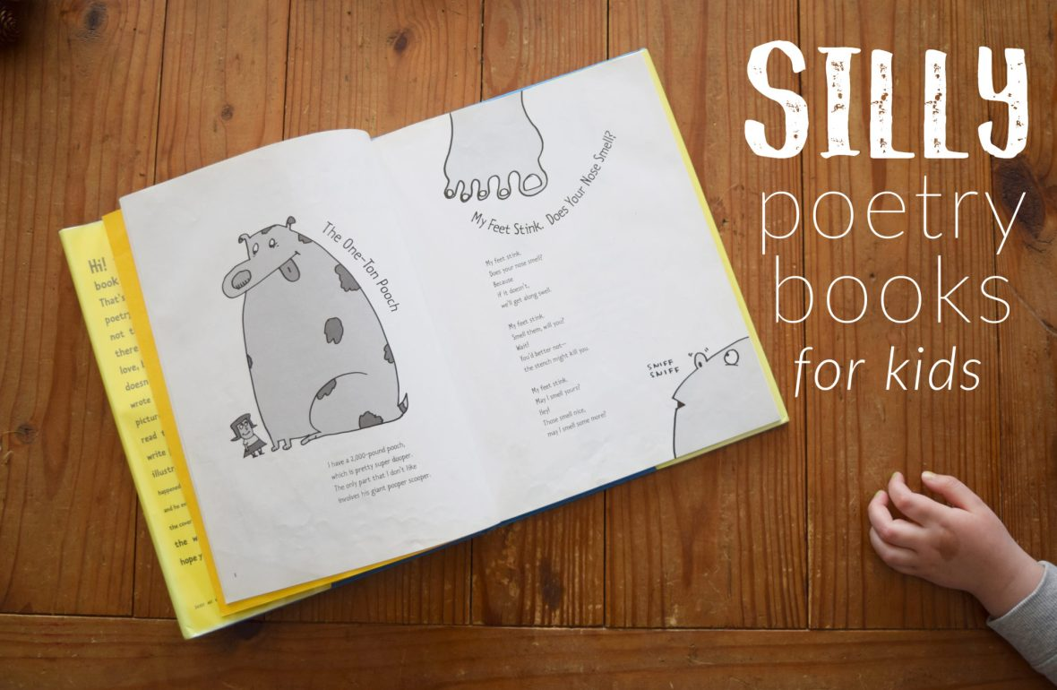 silly poetry books for kids