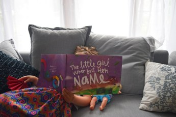 Great gift idea! The Little Girl Who Lost Her Name, a personalized kids picture book