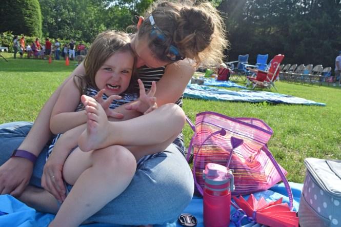picnicking at Caramoor