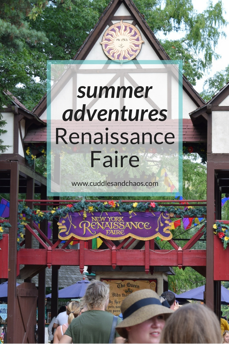Hudson Valley summer adventures - NY Renaissance Faire