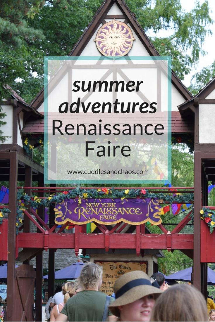 Hudson Valley summer adventures - NY Renaissance Faire