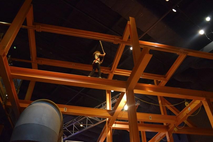 Liberty Science Center | Skyscrapers! exhibit: walking the beams