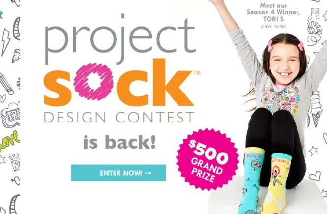 LittleMissMatched Project Sock Design Contest