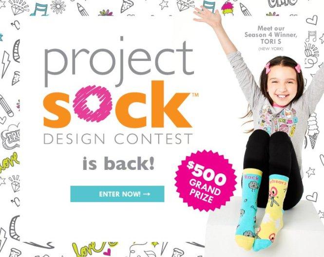 LittleMissMatched Project Sock Design Contest