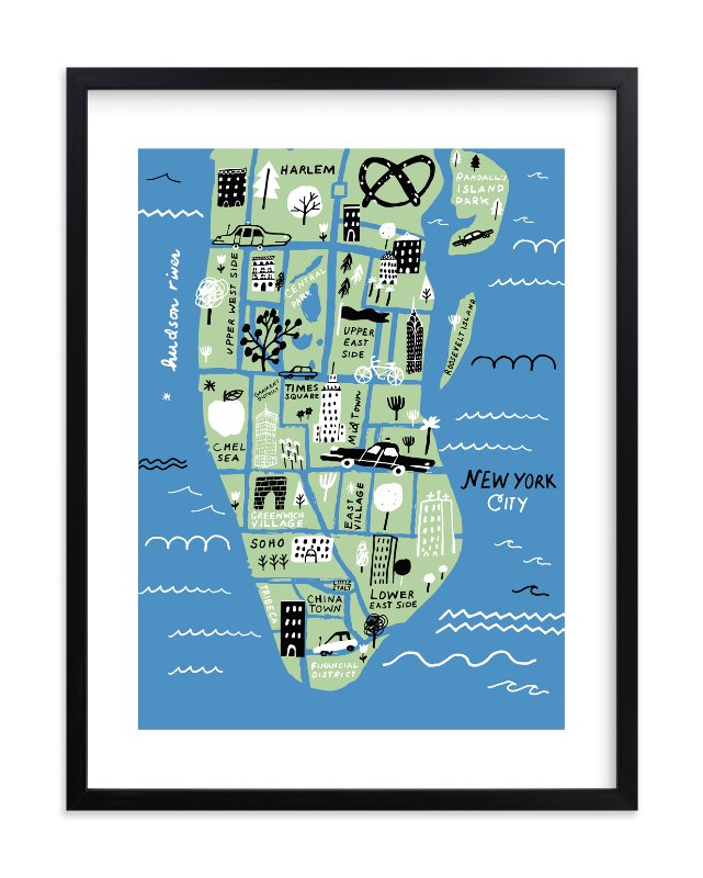 Minted holiday gifts and decor | I Love New York art