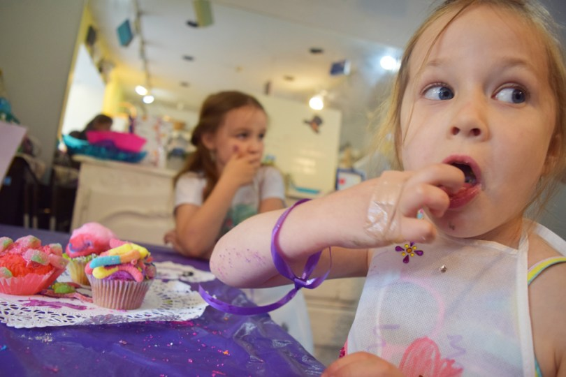 Cupcake Wars birthday party for kids