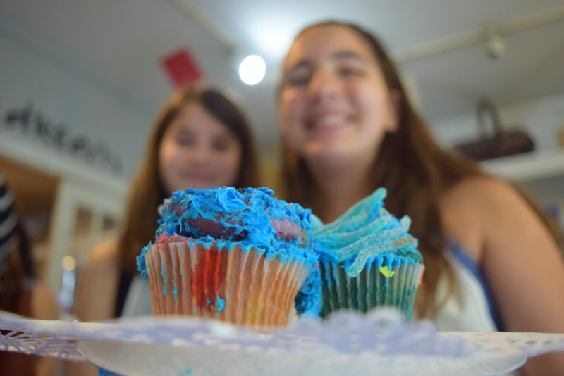 Cupcake Wars birthday party for tweens