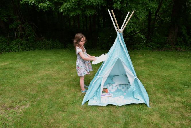 Teepee Joy kids play tent