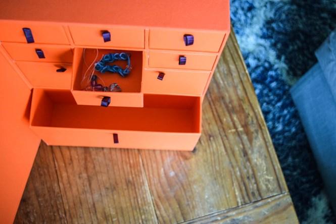 Savor - simple family keepsake storage - stores documents, artworks and even little keepsakes - organize family memories