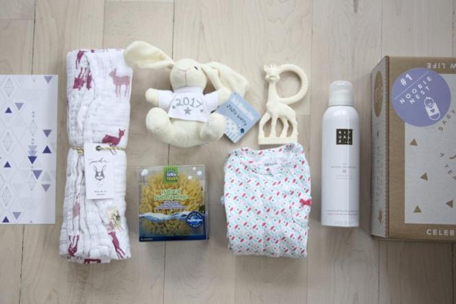 New Baby Giveaway! | Noobie Nest milestone box