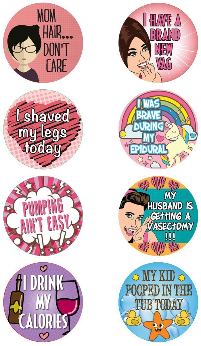7 Hilarious White Elephant Gift Ideas - Adult Achievement Stickers