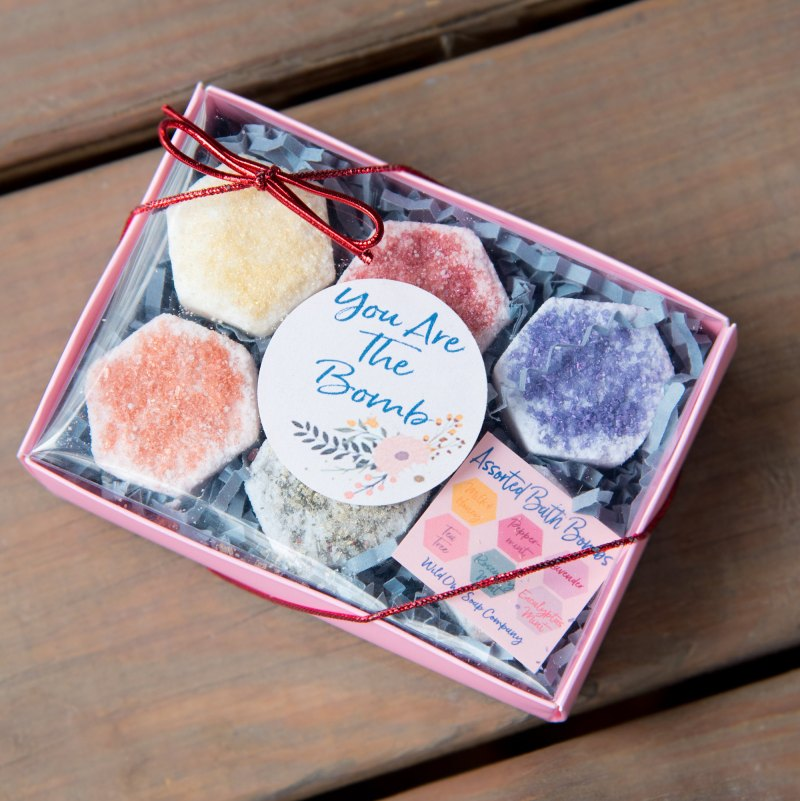 10 Fun Finds For Valentine's Day - you are the bomb gift set from Wild Owl Soap