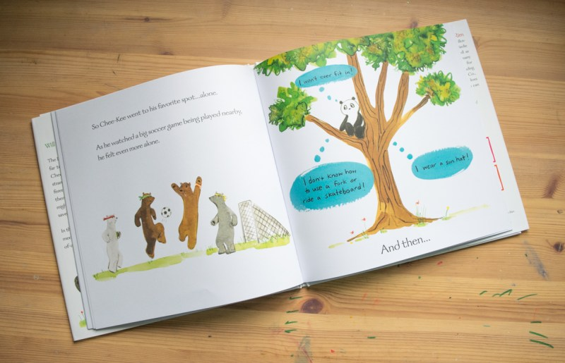 children's books that teach resilience - Chee-Kee A Panda in Bearland - picture books - #books #kidsbooks