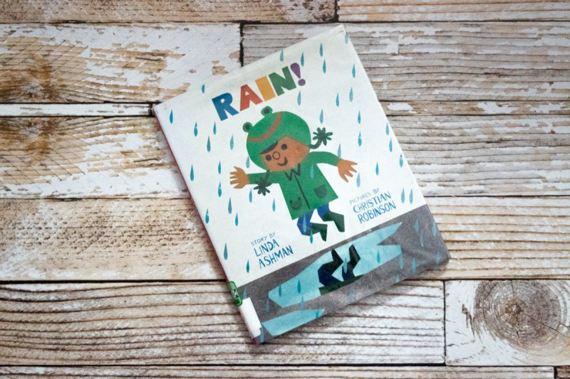 Black History Month - diversity in kids picture books - children's books starring African American characters - Rain by Linda Ashman