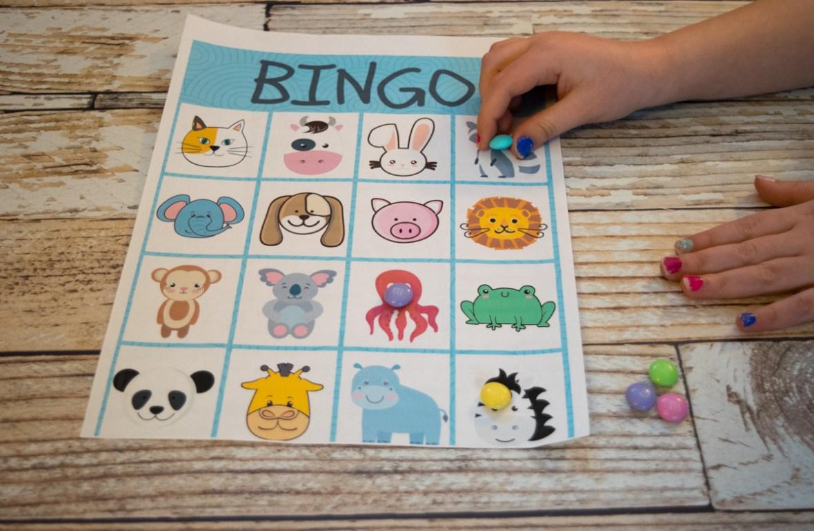 3 Fun, Free Kids Printables: BINGO, Restaurant Checks, and Comic ...