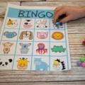 Free Kids Printable Activities bundle - animal BINGO game #kidsfun - indoor activities for kids